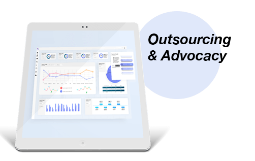 martech outsourcing and advocacy ipad